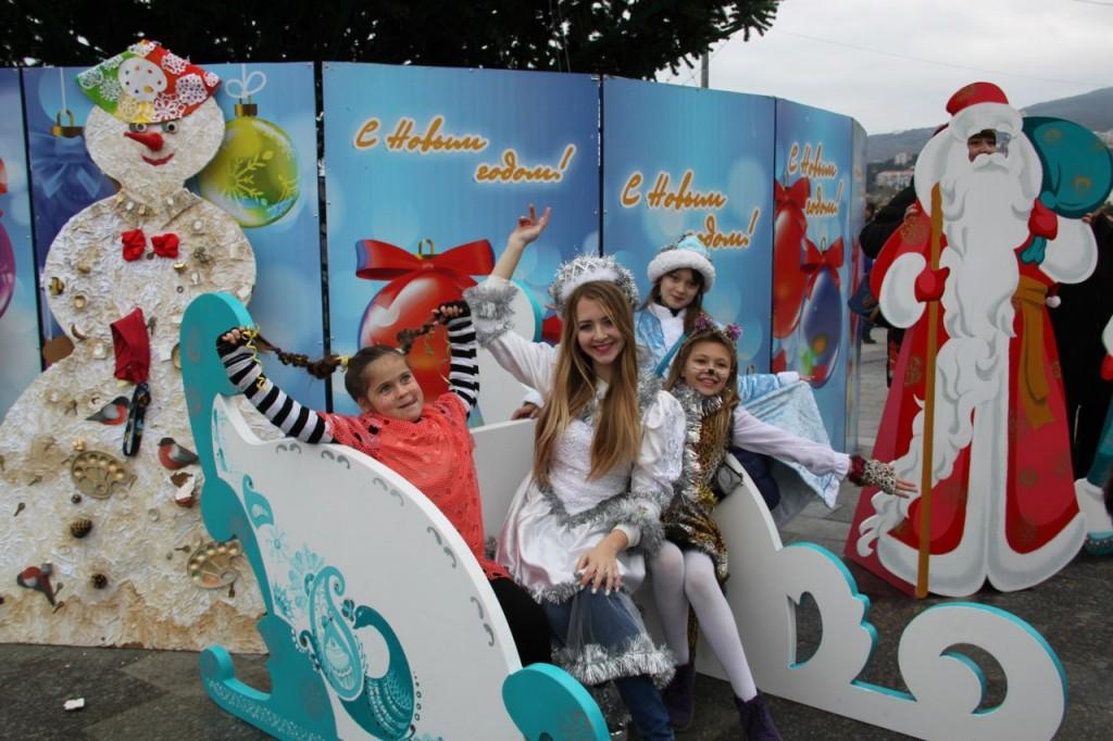 Алупкинская команда на Мороз-параде в Ялте 2