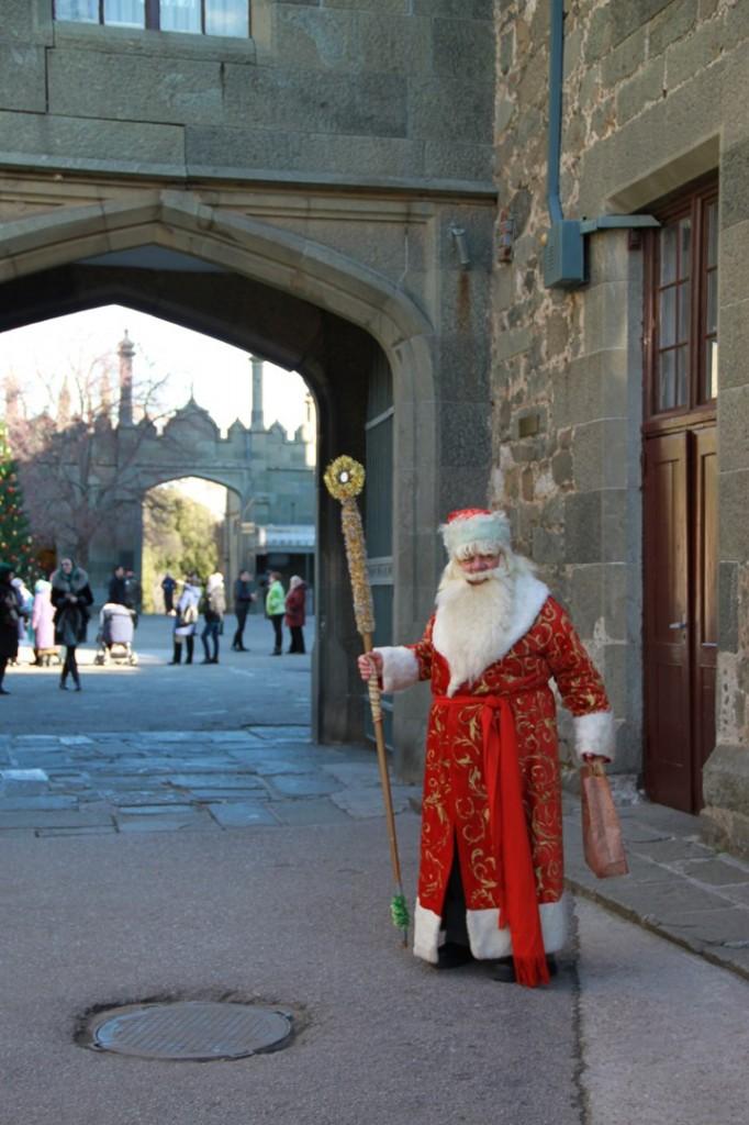 Дед Мороз и Снегурочка на ёлке в Воронцовском дворце 3