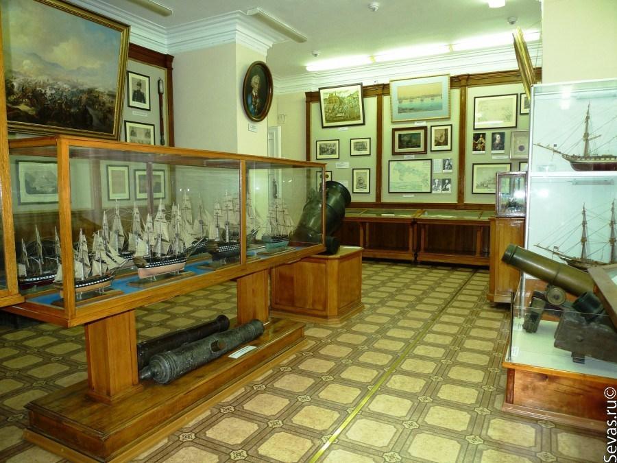 Музей Черноморского флота в Севастополе