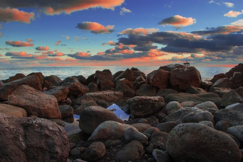 Рассвет в Алупке