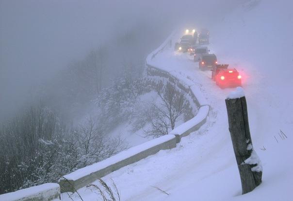 Автодорогу Ялта-Бахчисарай перекрыли из-за ухудшения погоды