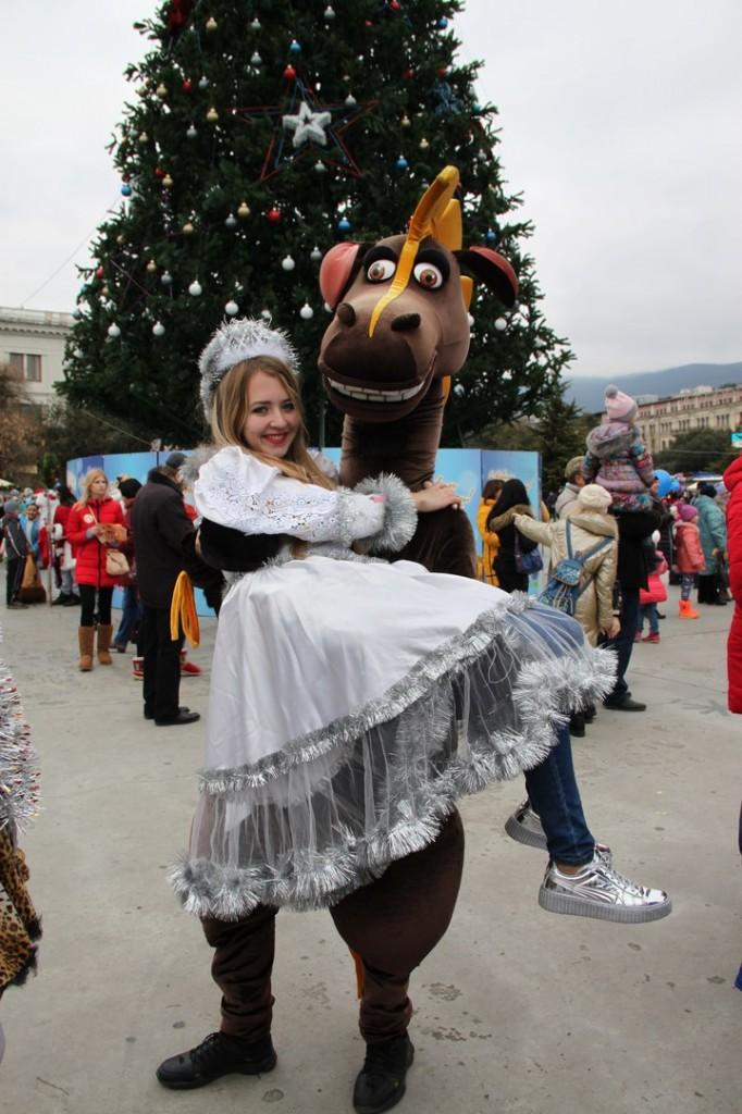 Алупкинская команда на Мороз-параде в Ялте 3