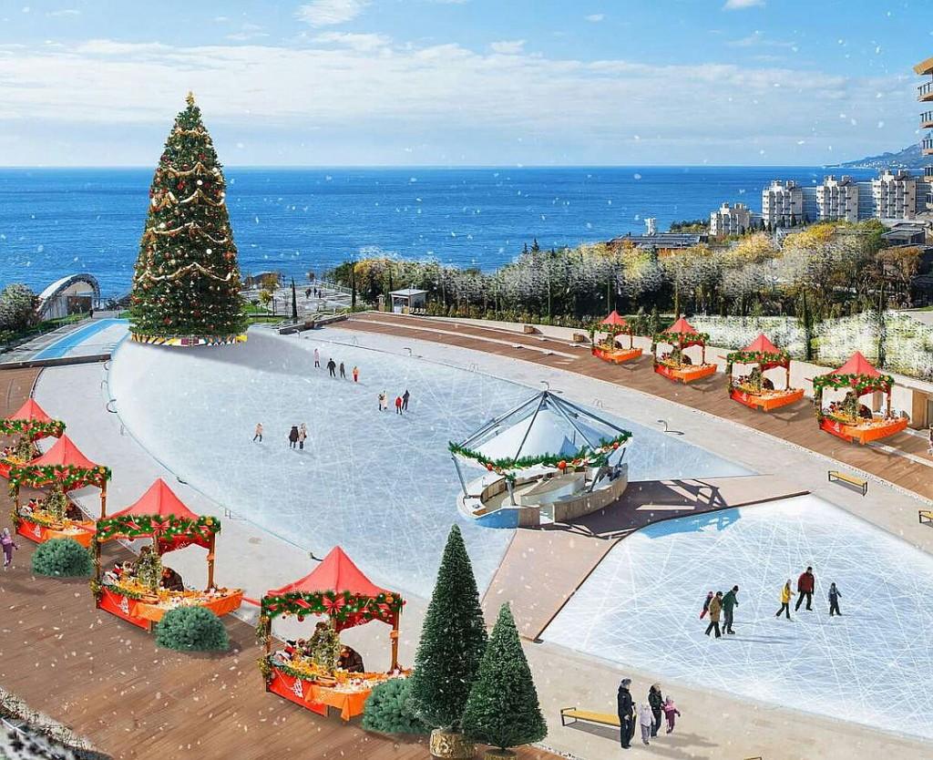 В Ялте откроется самый большой в России каток