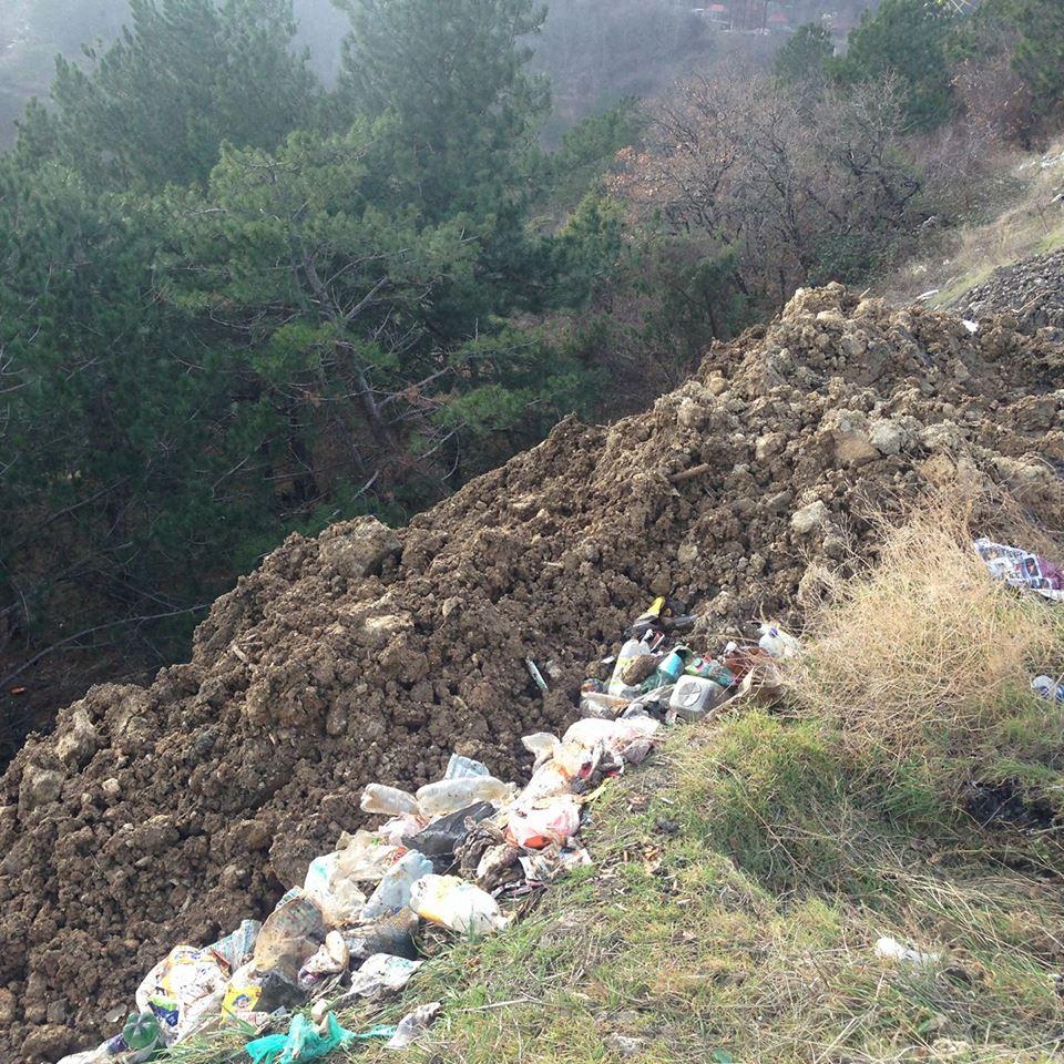 Ялтинцы просят предотвратить экологическую катастрофу