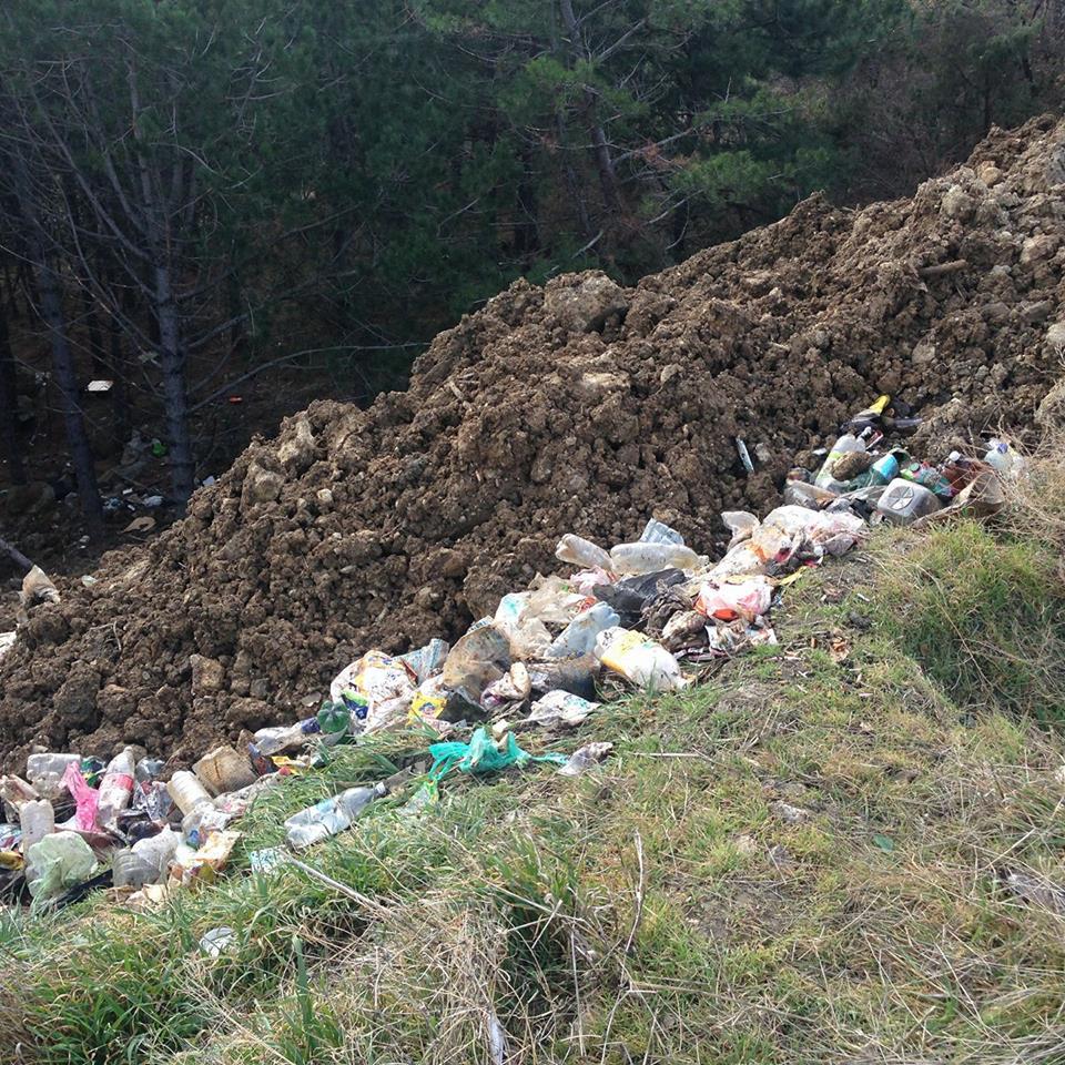 Ялтинцы просят предотвратить экологическую катастрофу 3