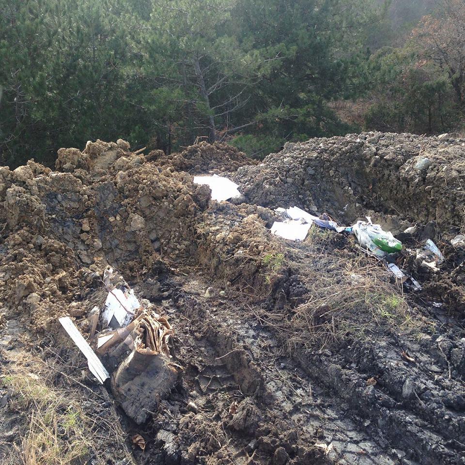 Ялтинцы просят предотвратить экологическую катастрофу 2