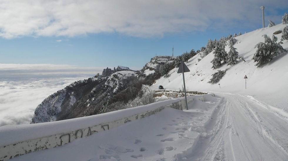 Автодорогу Бахчисарай-Ялта через Ай-Петри закрыли до весны