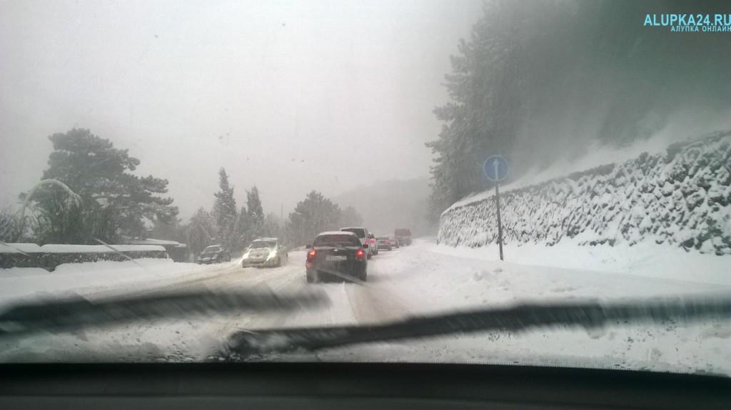 Снежный «апокалипсис» в Большой Ялте