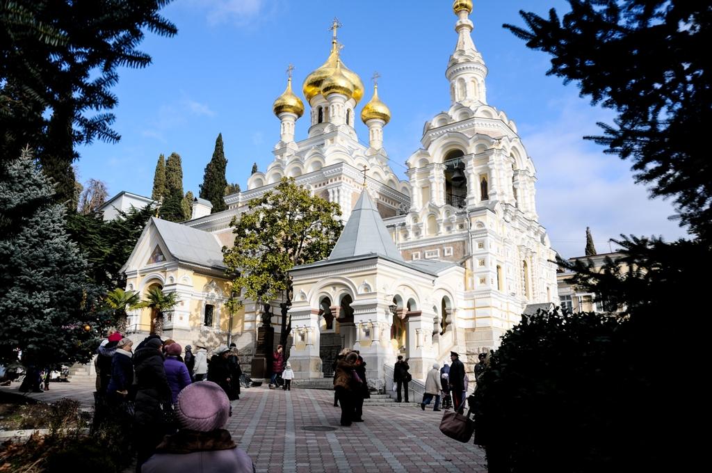 Собор Александра Невского в Ялте