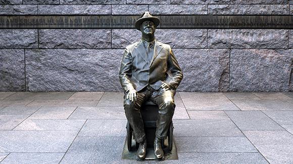 В Ялте установят памятник американскому президенту Франклину Рузвельту