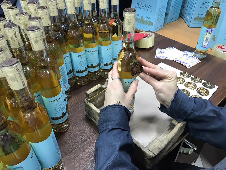 На гурзуфской винодельне начался розлив вин 5