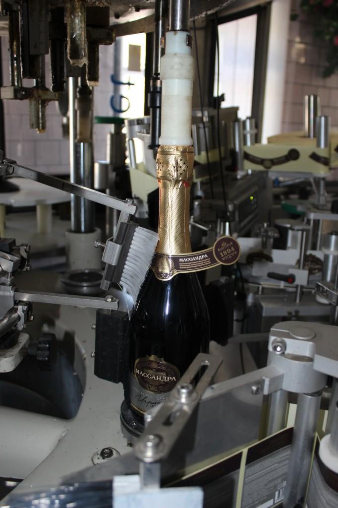 Винзавод «Массандра» начал выпуск игристых вин 2