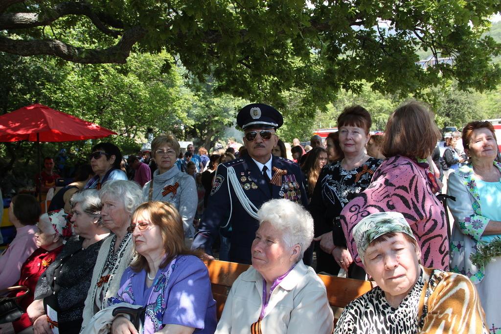 День Победы в Алупке в 2017 году