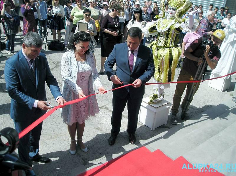 Открытие концертного зала «Черноморец»  в Симеизе
