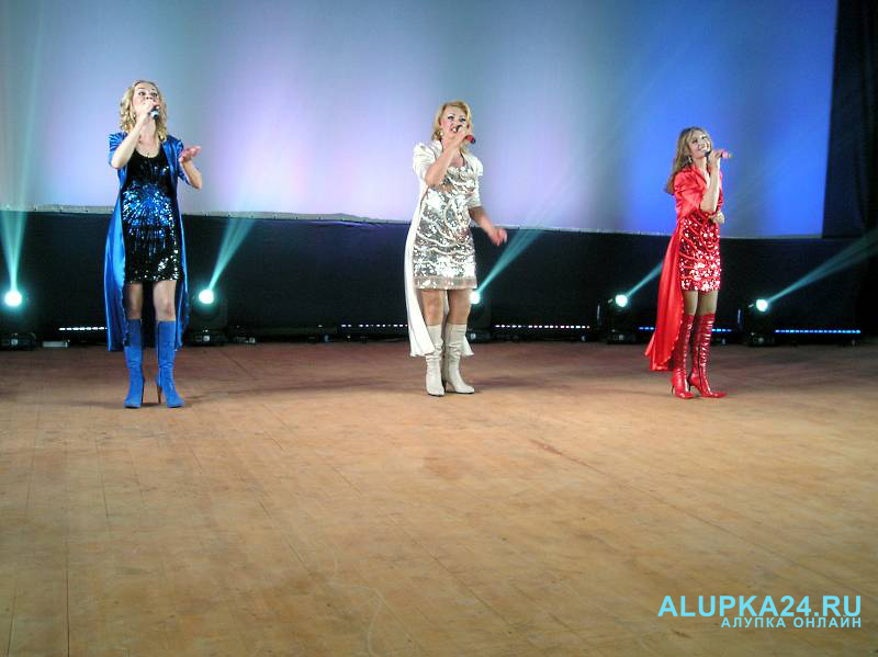 Открытие концертного зала «Черноморец»  в Симеизе 3
