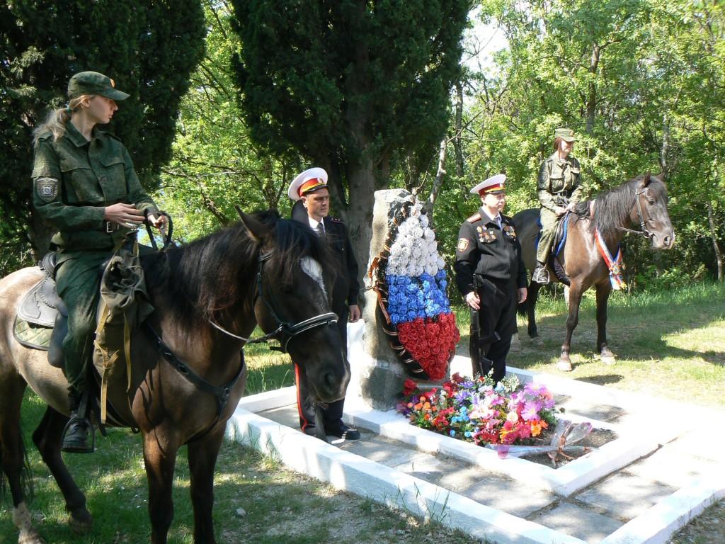Могила неизвестного солдата в Милютинском парке