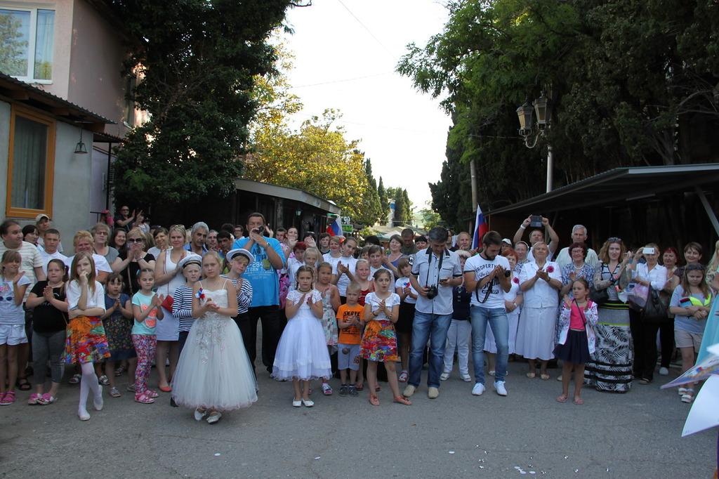 В Алупке отметили День России и выбрали самую красивую девушку