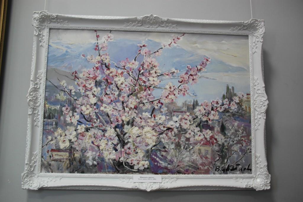В Алупке состоялась выставка Валентины Цветковой 2