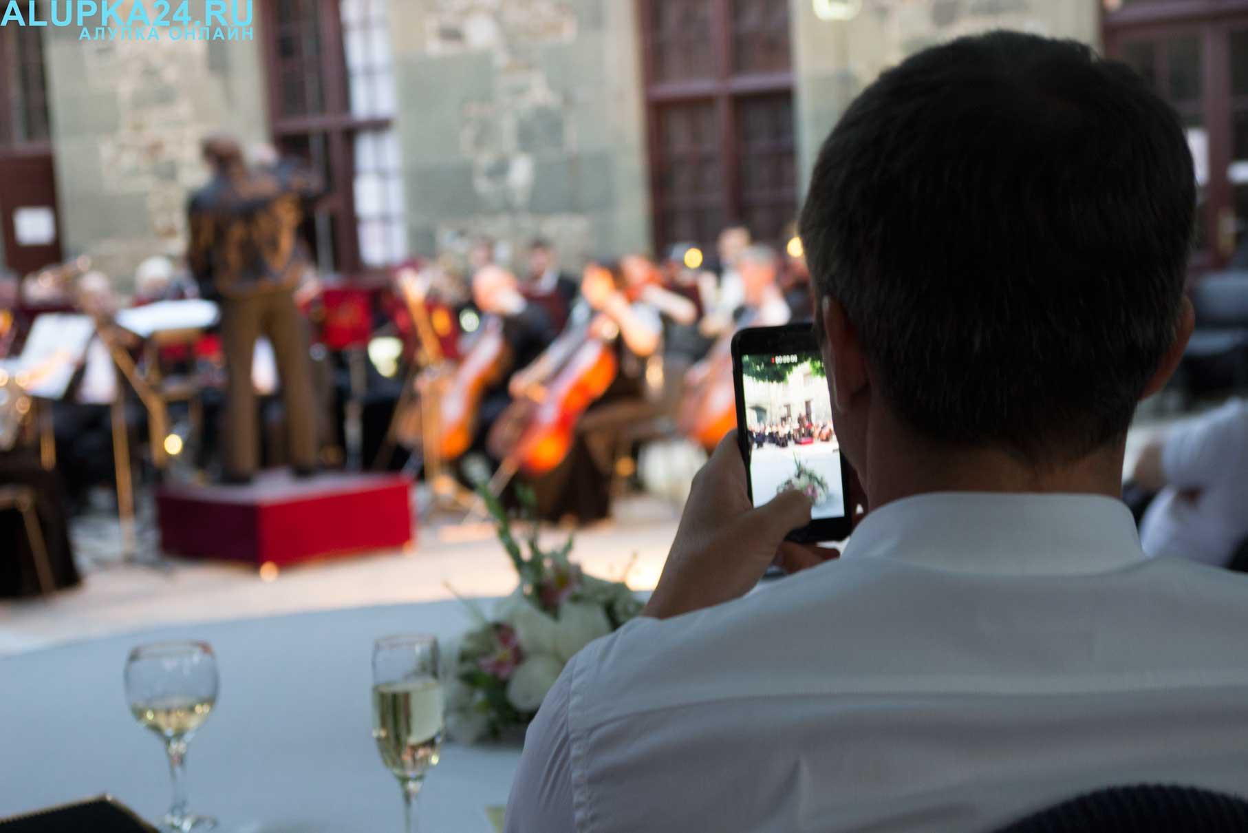 «Под сенью воронцовского платана» выступил симфонический оркестр 3