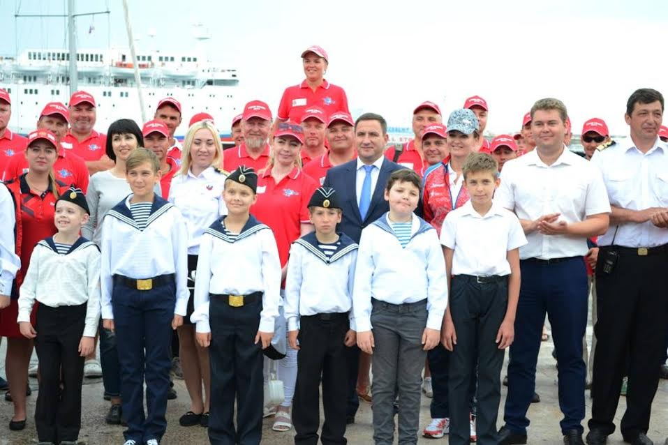 В Ялте проходит Чемпионат России по парусному спорту 2
