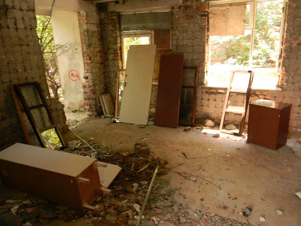 В Ялте разгромили тренировочный центр местного отделения ДОСААФ 9
