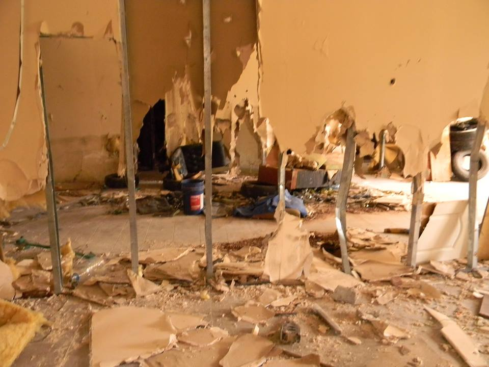 В Ялте разгромили тренировочный центр местного отделения ДОСААФ 4