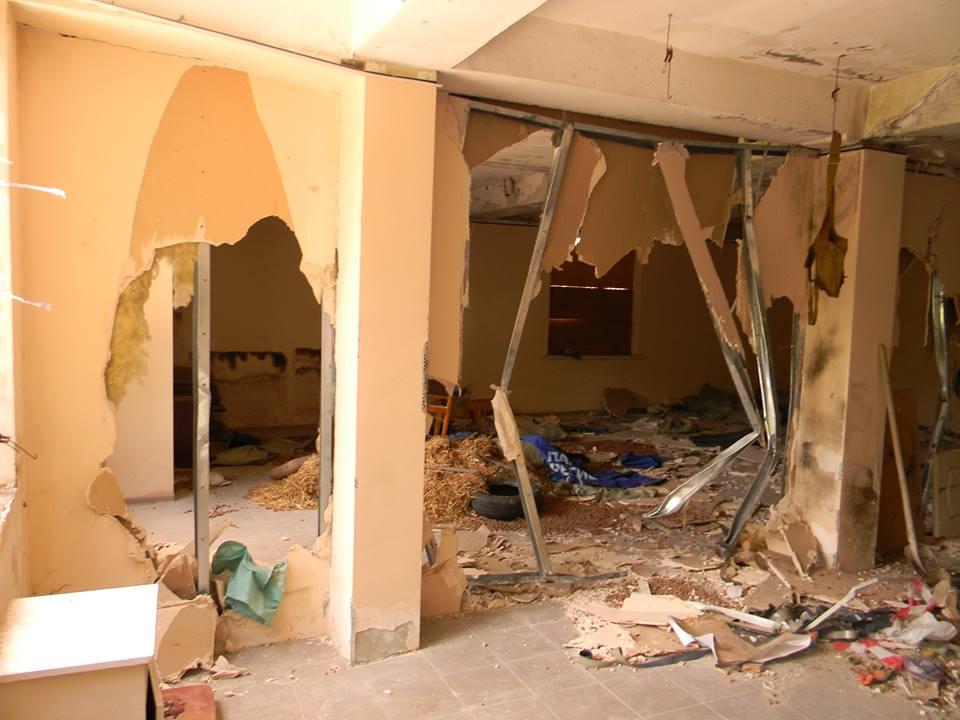 В Ялте разгромили тренировочный центр местного отделения ДОСААФ