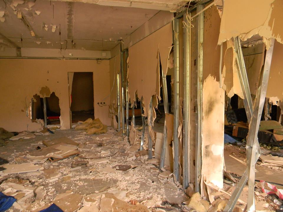 В Ялте разгромили тренировочный центр местного отделения ДОСААФ 2