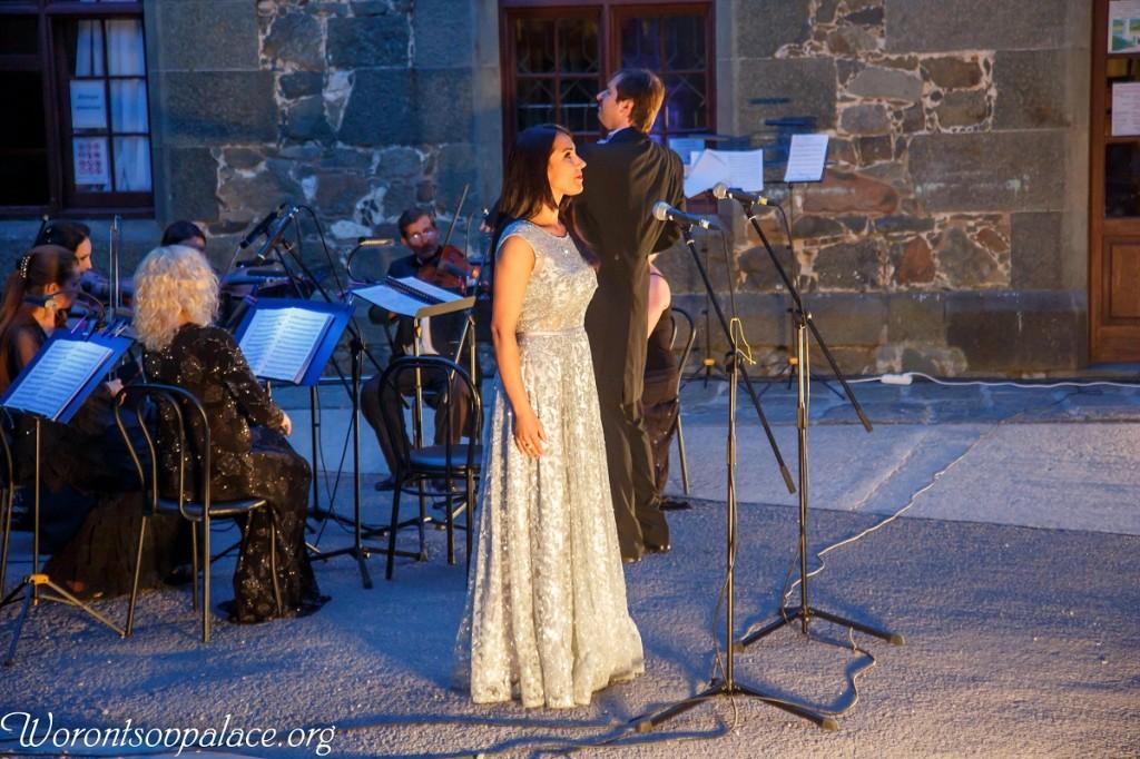 В Алупке состоялся концерт из цикла «Под сенью Воронцовского платана» 2