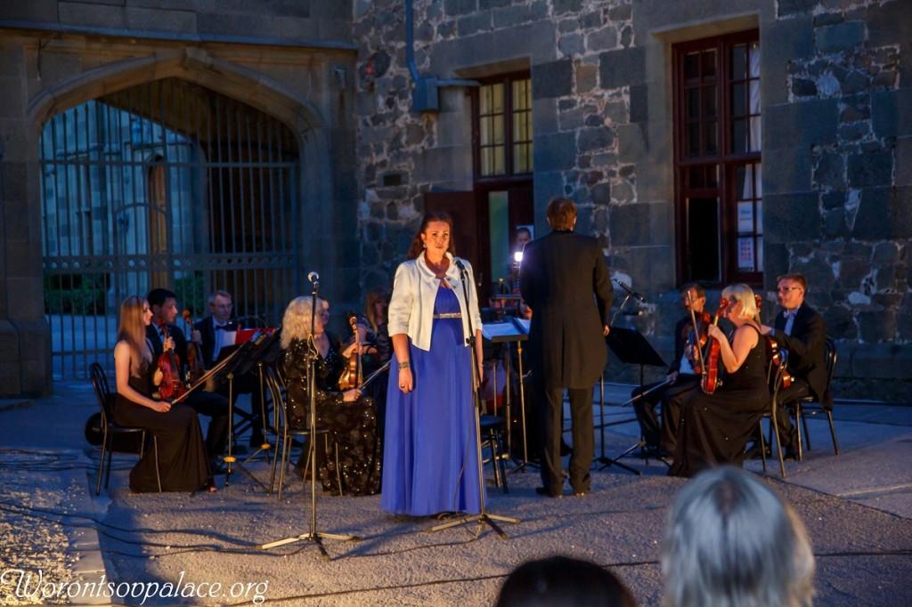 В Алупке состоялся концерт из цикла «Под сенью Воронцовского платана» 3