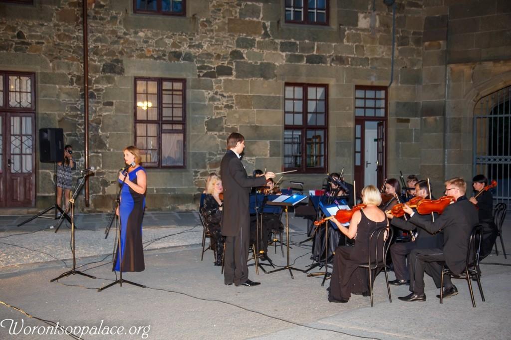 В Алупке состоялся концерт из цикла «Под сенью Воронцовского платана» 4