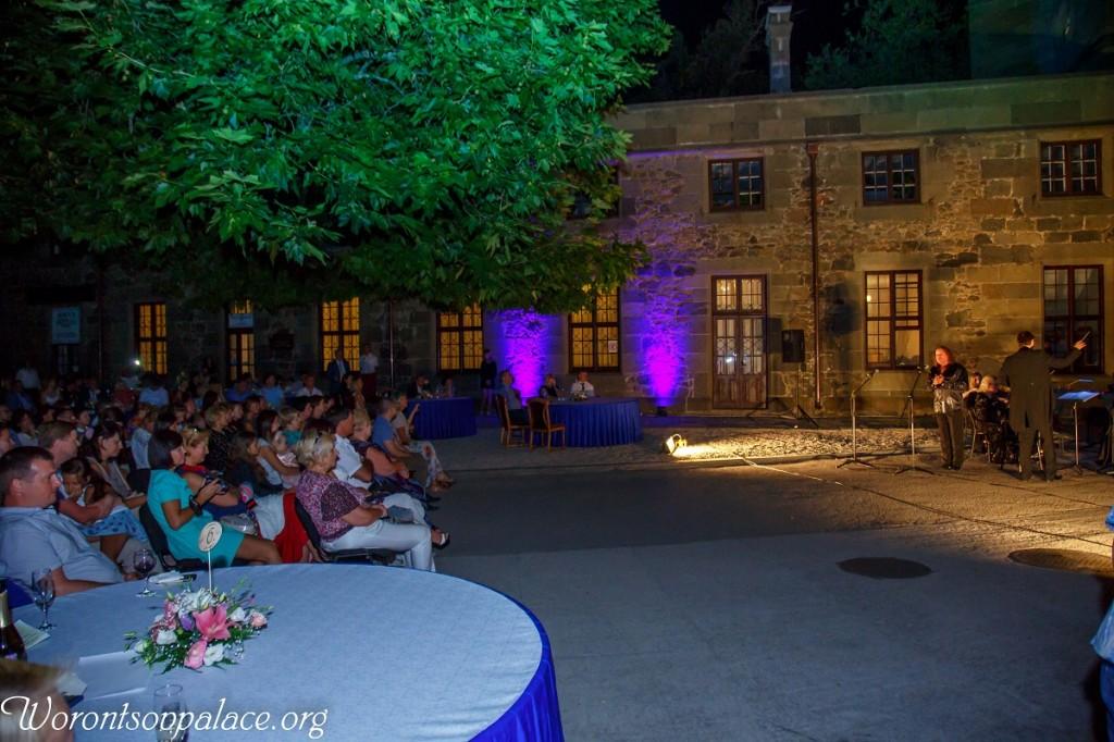 В Алупке состоялся концерт из цикла «Под сенью Воронцовского платана» 8