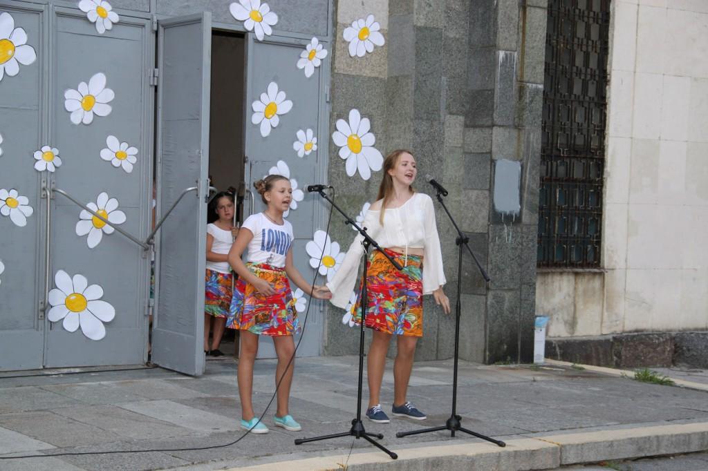В Алупке отметили День молодёжи 9