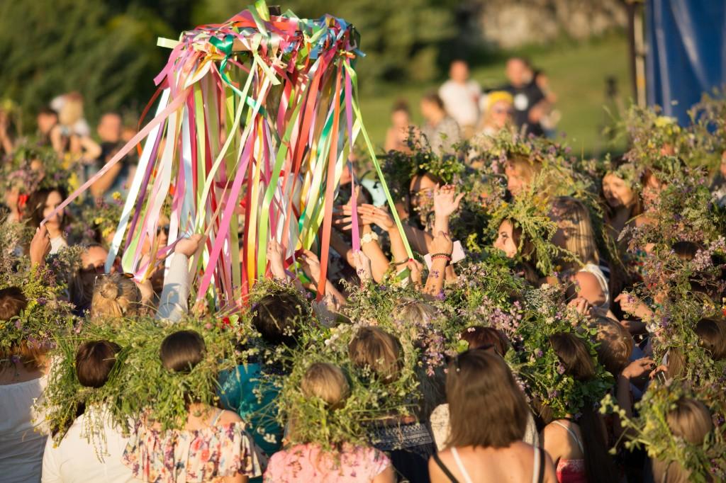 На местах древних святилищ Бахчисарайского района провели фестиваль «Ивана Купала»