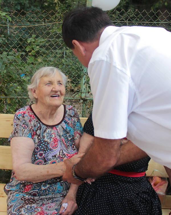 Вера Кравцова отметила 100-летний юбилей