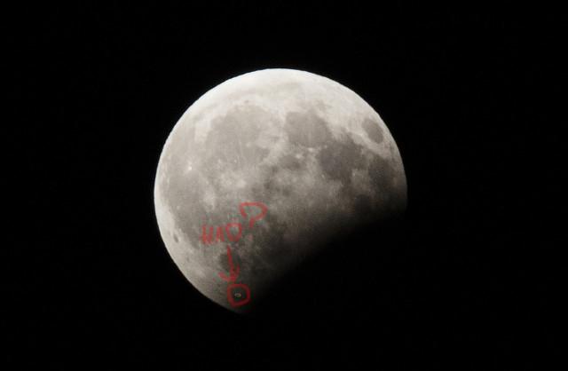 Во время лунного затмения на Землю могли прибыть пришельцы 4
