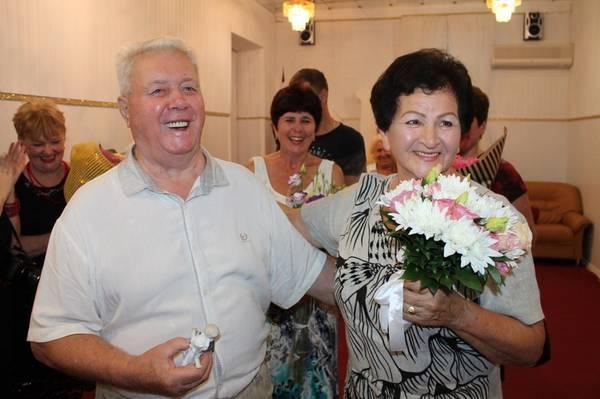 В Ялте отметили бриллиантовую свадьбу