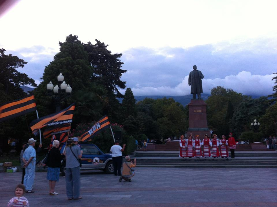 В Ялте провели автопробег «Крестный ход Державный покров» 4
