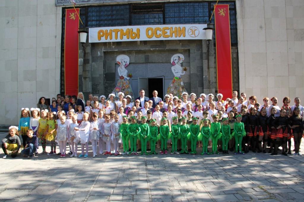 В Алупке провели первый танцевальный фестиваль «Ритмы осени»