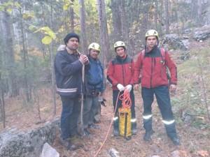 Спасатели помогли заблудившимся на Ай-Петри туристам