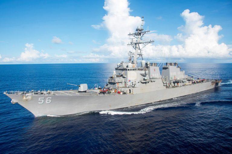 В акваторию Чёрного моря вошёл американский эсминец с летальным оружием