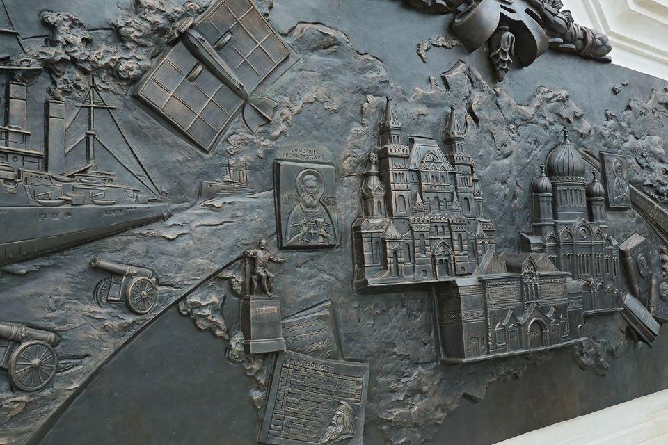 В Ливадии открыли памятник Александру III 7