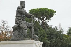 В Ливадии открыли памятник Александру III
