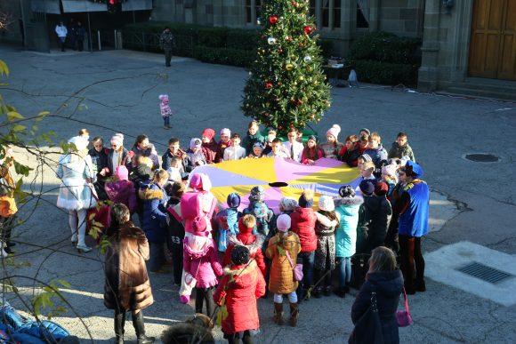 Открытие новогодней ёлки в Воронцовском дворце 2018 6