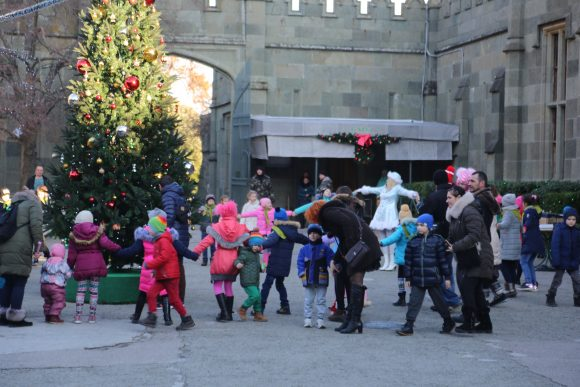 Открытие новогодней ёлки в Воронцовском дворце 2018 7