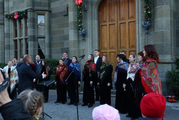 Открытие новогодней ёлки в Воронцовском дворце 2018 8