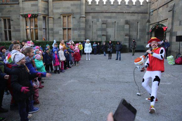 Открытие новогодней ёлки в Воронцовском дворце 2018 4