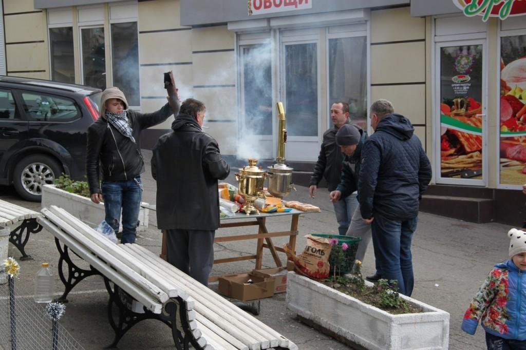 Открытие ёлки в Алупке 2018 4