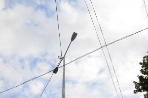 В Алупке завершили капитальный ремонт наружного освещения