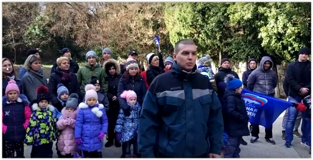 Жители Алупки попросили у Сергея Аксёнова детскую площадку